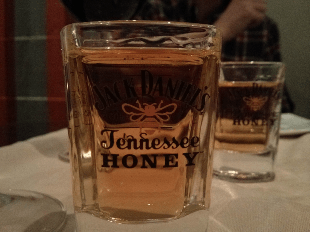 Chupito de Jack Daniel's Honey.