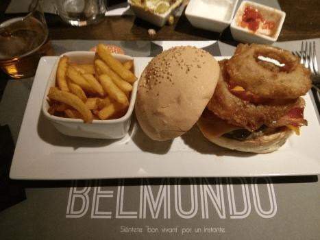 Hamburguesa Canyonero de Belmondo, en Valencia.