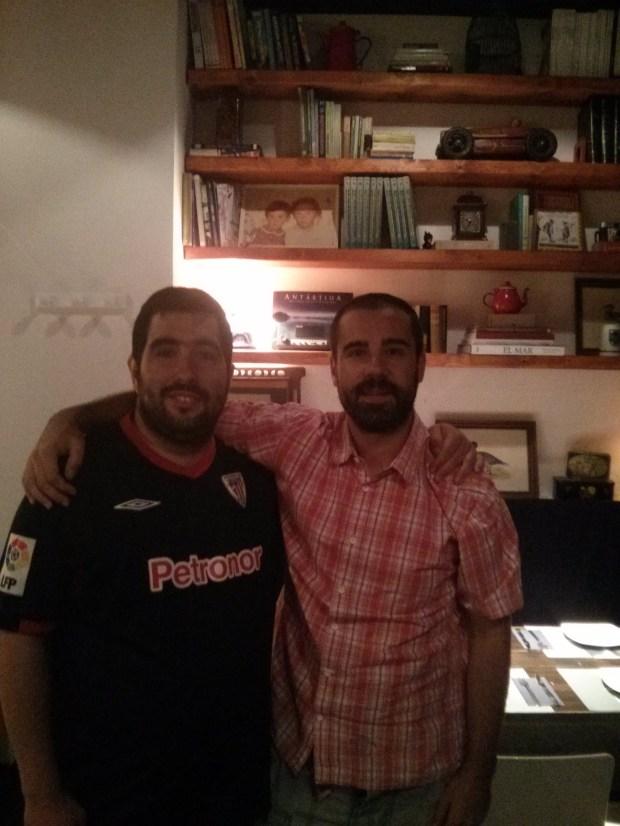 Javi López, CEO de GPMESS, y BlogdeBori en Belmondo