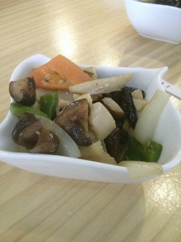 Verduras salteadas del Miya.