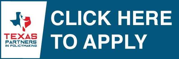 Apply Now to Texas Partners in Policy Making Static Page Banner