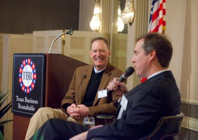 Texas Business Roundtable | Texas Supreme Court Justice Jimmy Blacklock | George Christian