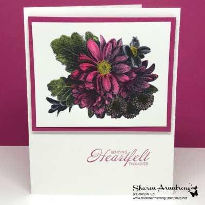 Heartfelt Blooms Sending Heartfelt Thoughts