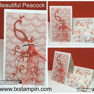 Beautiful Peacock Sale-A-Bration 2018