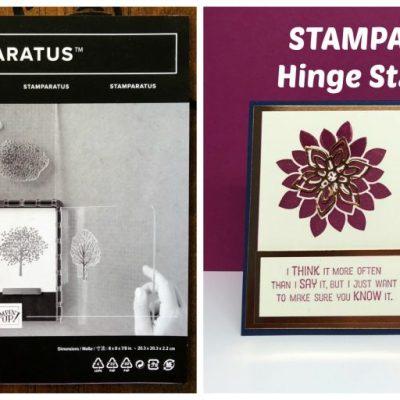 Stamparatus Hinge Stamping Video