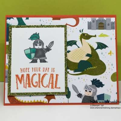 Magical Day Myths Magic Designer Series Paper