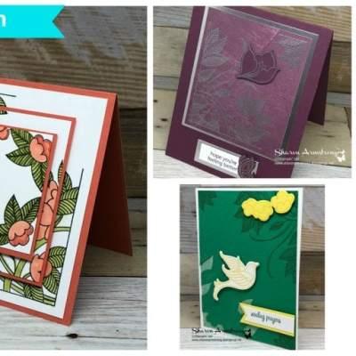 Serene Garden Online Card Class
