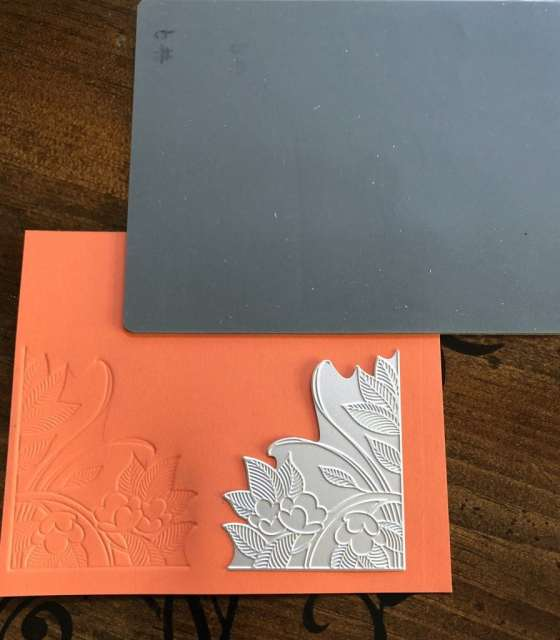 Embossing impressions tutorial by Sharon Armstrong