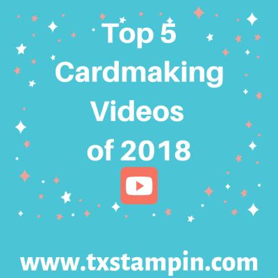 TxStampin' Top 5 YouTube Videos