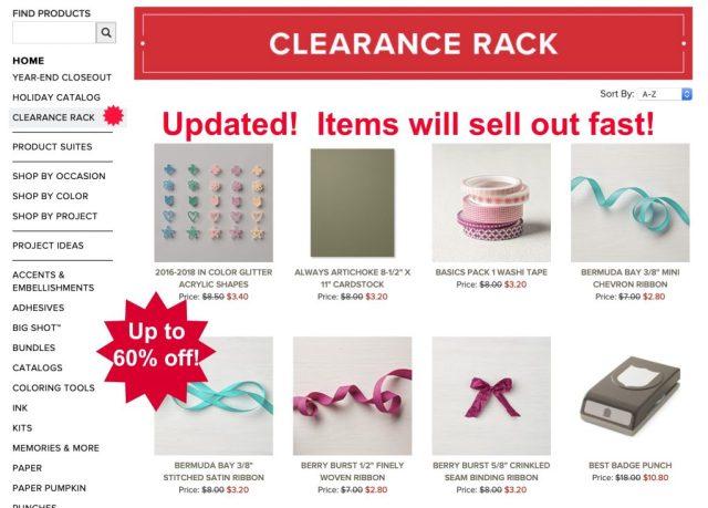 Clearance-Rack-Cardmaking-Supplies