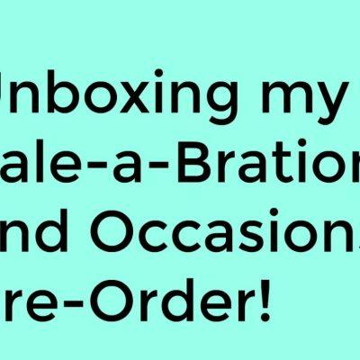 Unboxing Stampin' Up! Pre-Order December 2018