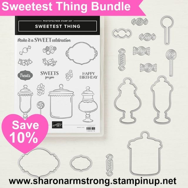 Stampin Up Sweetest Thing Stamp Set and Framelit Images