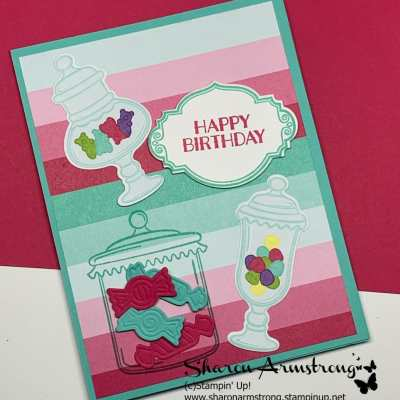 Card Making Tutorial for Easel Card | Stampin Up Sweetest Thing