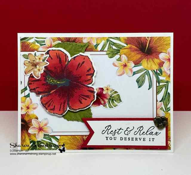 Make-Easy-Cards-with-Memories-&-More-Tropical-Greeting-Card