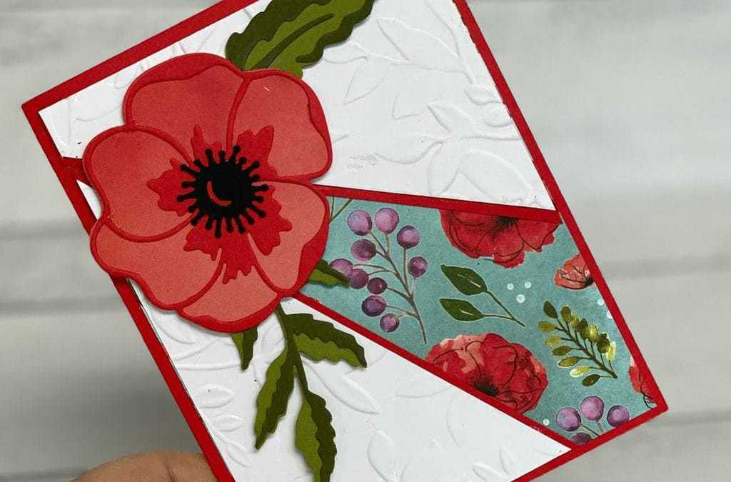 How To Make A Split Front Greeting Card