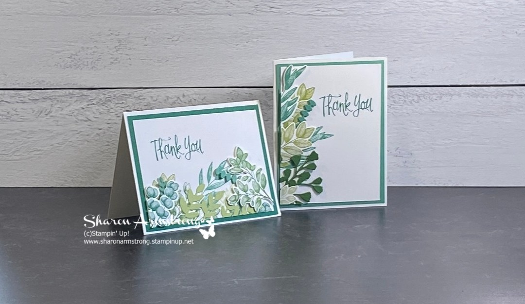 How to Make a Split Card for 2 Greeting Cards in One Sitting