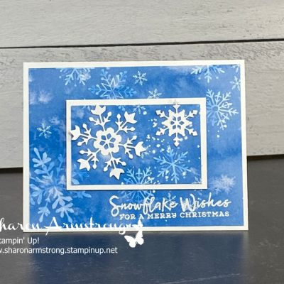 New Christmas Card Ideas You Can Make + Designer Paper Tip
