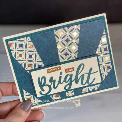 2 Easy Ways to Make Sunburst Cards