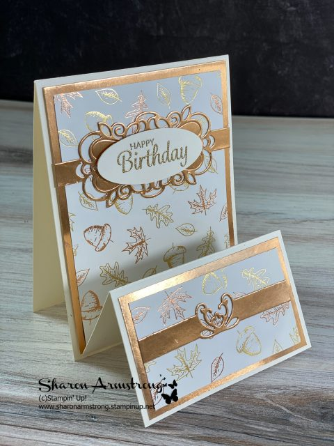 fall-birthday-card-fun-fold-card-idea-with-foil-paper