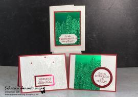 How to Make 3 Elegant Christmas Cards