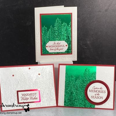 How to Make 3 Elegant Christmas Cards