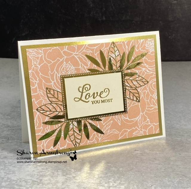 make-beautiful-cards-quickly-handmade-love-card-with-gold-foil-paper