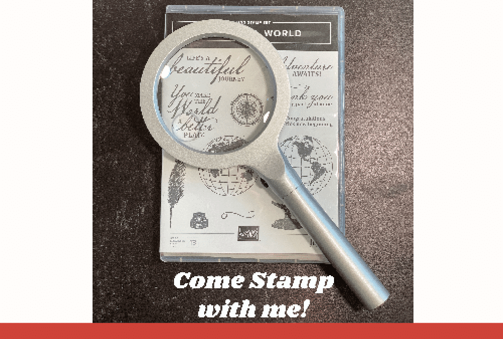 Mystery Monday Stamping with Sharon