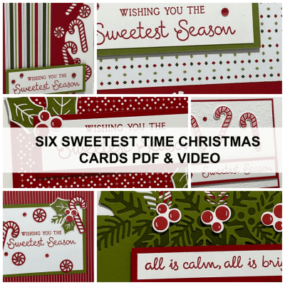 Want to See the Sweetest Time to Make Christmas Cards + a New Card Class