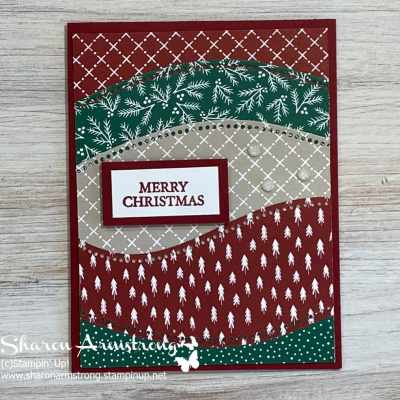 Make a Merry Christmas Card That's Simple but Beautiful