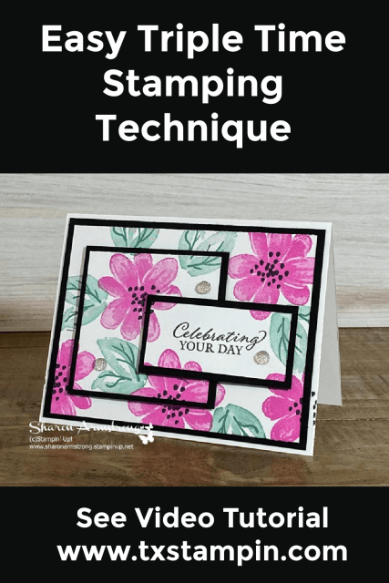 Remember the triple time stamping technique and pin this to your favorite Pinterest board.