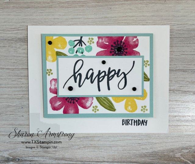 I love this birthday card as part of my simple card making layouts to choose from.