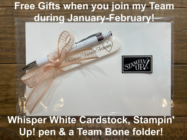 Join my team and you'll get a free gift.
