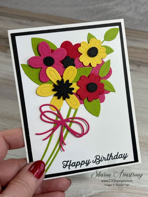 Make spring cards with the Stampin' Up! In Bloom bundle.