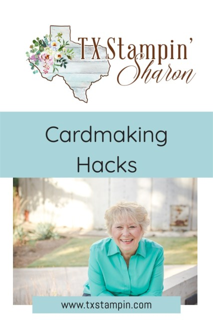 Be sure and save these best card making hacks to your pinterest board for future reference.