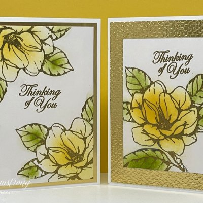 Embossing Powder and It's Power to Make a Beautiful Greeting Card