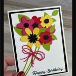 DIY Birthday Card She'll ADORE!