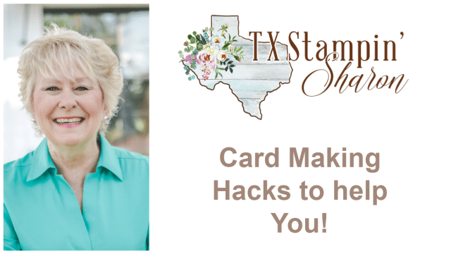 My best card making hacks will get you successful results that save time.