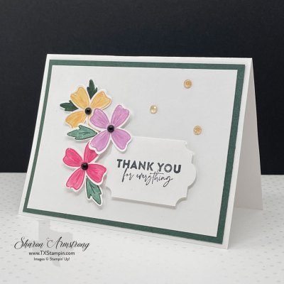 Flowers of Friendship Cards + New Stampin' Up! Catalog Sneak Peek