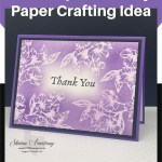 Emboss Resist Technique: An Easy Paper Crafting Idea