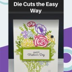 Paper Craft Tip: How to Adhere Intricate Die Cuts the Easy Way