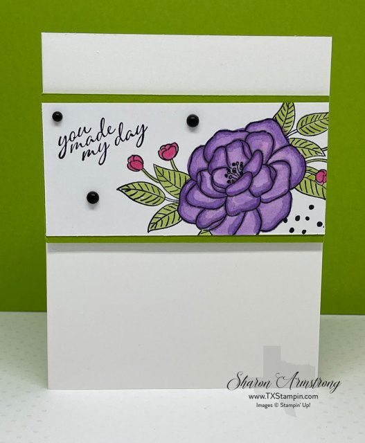 I loved using my Stampin' Blends on my greeting cards.