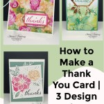 How to Make a Thank You Card | 3 Design Ideas