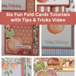 Sweet as a Peach Cards + 6 Card Tutorial Offer