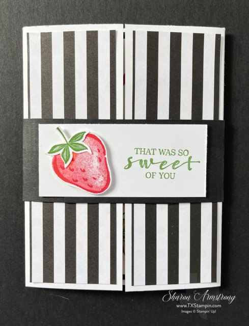 You can use the gatefold easel card tutorial to make cards for any occasion.