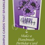 Make a Handmade Birthday Card Today