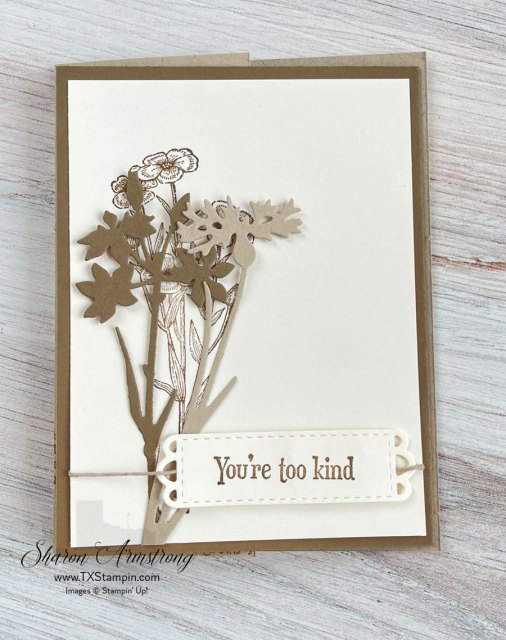 Learn how to make a flap fold card for any occasion.