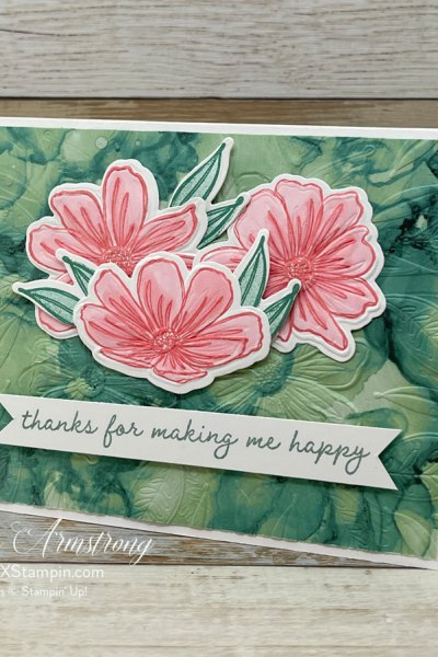 Have You Seen Art in Bloom? 5 WOW Handmade Cards