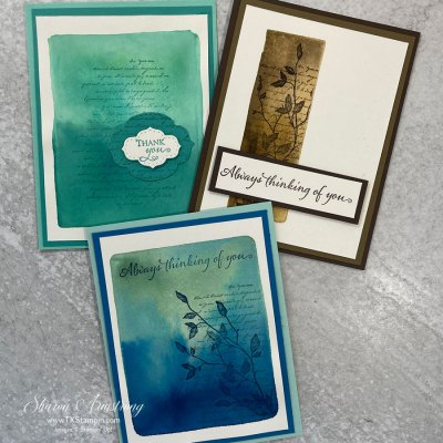Creative Ways to Make a Greeting Card? Try The Acrylic Block Stamping Technique