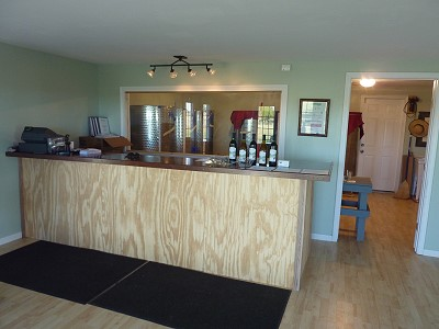 White House Winery - inside
