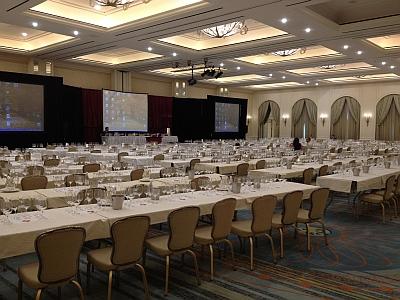 TEXSOM 2012 - ballroom